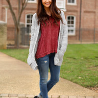 feel the chill cardigan