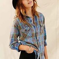 Urban Renewal Washed Out Flannel