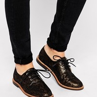London Rebel Simple Lace Up Flat Shoes