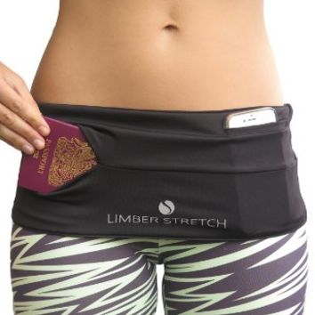 Limber Stretch Hip Hug CLASSIC or PRO Running Fuel Belt available in PLUS SIZES