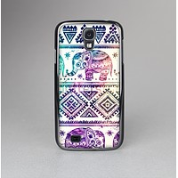 The Tie-Dyed Aztec Elephant Pattern Skin-Sert Case for the Samsung Galaxy S4