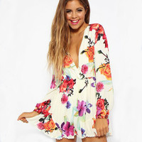 New Fashion Summer Sexy Women Mini Romper Casual Jumsuit for Party and Date = 4662205124