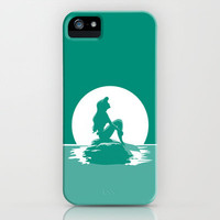 Little Mermaid iPhone & iPod Case by MargaHG