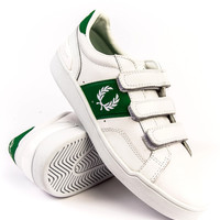 Fred Perry Sturgess Lea Sports White/Green Sneaker