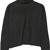 Marni - Double-faced wool-blend turtleneck top