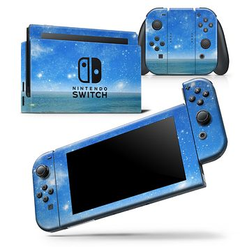 Fantasy Fantasea - Skin Wrap Decal for Nintendo Switch Lite Console & Dock - 3DS XL - 2DS - Pro - DSi - Wii - Joy-Con Gaming Controller