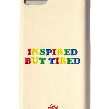 Inspired But Tired iPhone Case