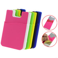Back Cover Card Holder Pouch For Cell Phone