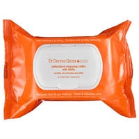 Dr. Dennis Gross Skincare Antioxidant Cleansing Cloths  with AHAs (30 cloths)