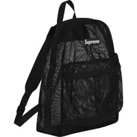 Supreme: Mesh Backpack - Black