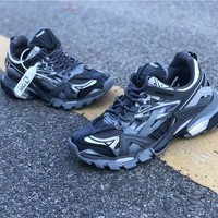 Balenciaga Triple S Trainers 4.0 Black/Gray