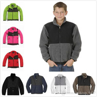 Free shipping 2015 promotion Kid,s Winter Fleece Jackets selling outdoor sports clothing, children's sportswear jacket winter suit