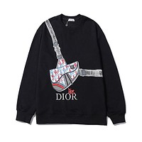 Dior autumn and winter breathable and comfortable round neck backpack sweater