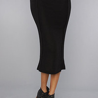 The Jep Midi Skirt in Black : Motel : Karmaloop.com - Global Concrete Culture