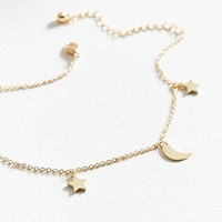 Celestial Charm Anklet | Urban Outfitters