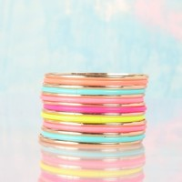Color Infusion Bangles
