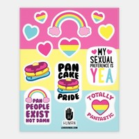 Pan Pride Stickers