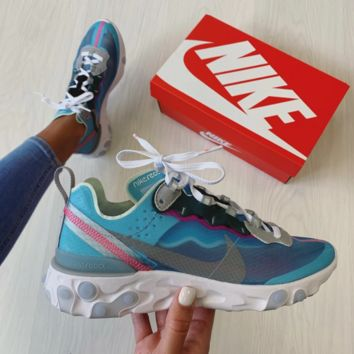 """NIKE REACT ELEMENT 87 """"ROYAL TINT"""" RELEASE DATE"""