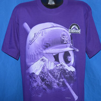 90s Colorado Rockies Deadstock t-shirt Large