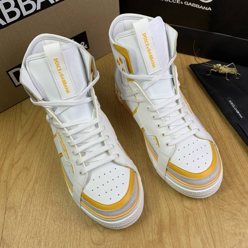 Image of D&G  Men Fashion Boots fashionable Casual leather Breathable Sneakers Running Shoes
