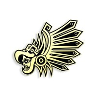 Eagle Warrior pin by Urban Aztec