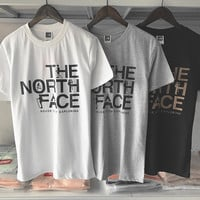 THE NORTH FACE SHIRT print short sleeve tee top H-RELAX-XS