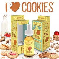 I love Cookies 30mL By Mad Hatter Juice
