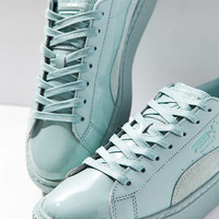 Puma Basket Patent Leather Platform Sneaker - Urban Outfitters