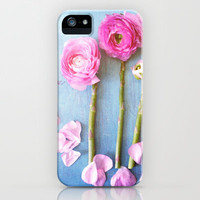 Wild Flowers and Spring Asparagus iPhone Case by Olivia Joy StClaire | Society6