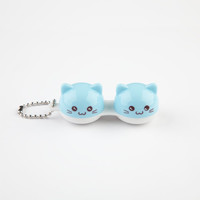 Ankit Kitty Contact Lens Case Blue One Size For Women 24764420001