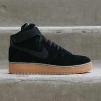 spbest NIKE - Men - Air Force 1 High - Black/Gum