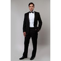 Black Notch Lapel Modern Fit Tuxedo