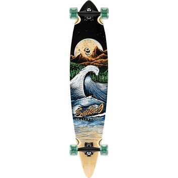 "44"" Sector 9 Bamboo Moonlight Maverick Longboard"