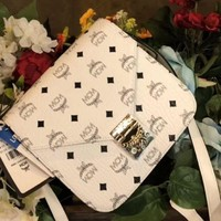MCM New fashion shoulder handba bag White