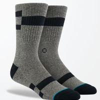 Stance Breaker Crew Socks - Mens Socks - Grey - One