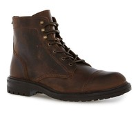 Tan Leather Toecap Boots - Boots - Shoes & Accessories