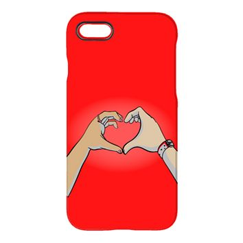 1 + 1 - Red - iPhone and Galaxy Case