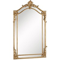 "Antique 30""x48""x2-1/4"" Wall Mirror"