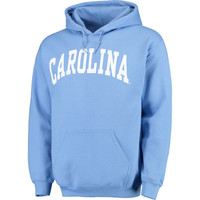 North Carolina Tar Heels Basic Arch Pullover Hoodie - Light Blue