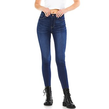 Retrace High Rise Ripped Jeans
