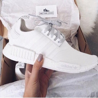 """""""Adidas"""" NMD Trending Fashion Casual Sports Shoes white"""