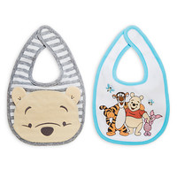 Winnie the Pooh and Pals Bib Set for Baby - 2-Pack
