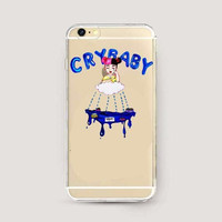 pretty little liars Melanie Martinez Cry Baby Hard Cover Case For Apple iphone 4 4s 5 5s 5C SE 6 6s 6Plus 7 7Plus Clear  Cases