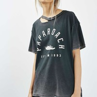 Papa Roach Slash Neck Tee by And Finally - Topshop