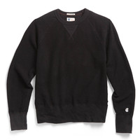 Inside Out Sweatshirt in Black