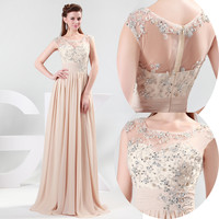 New Arrival Lady Formal Prom Wedding Party Long Dress Evening Cocktail Maxi Gown