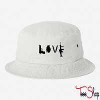 Love Guns bucket hat