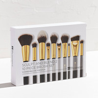 bh cosmetics 10 Piece Sculpt + Blend 2 Brush Set | Urban Outfitters