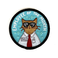 Employee Of The Month Iron-On Patch