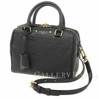 Louis Vuitton Speedy Bandouliere 20 Empreinte Handbag M42397 Authentic 4291930